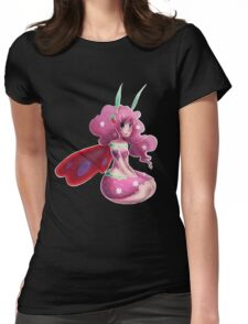 Strawberry Fairy Womens Fitted T-Shirt