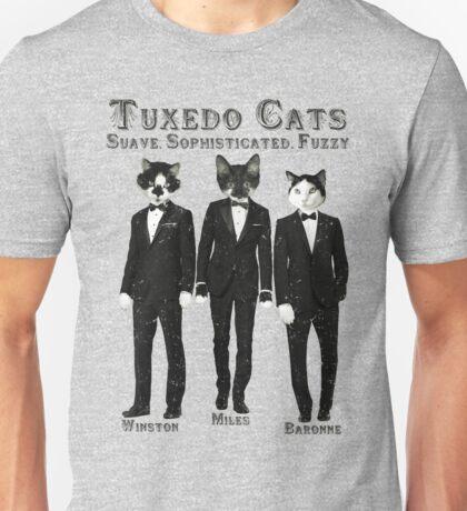 Tuxedo Cats Unisex T-Shirt