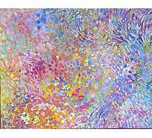 acrylic colorful Photographic Print