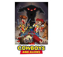 Toy Story - Cowboys and Aliens Photographic Print