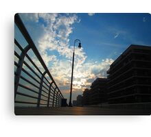 Long Beach, NY     Boardwalk                                     4549 Canvas Print