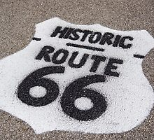 road route 66 by Anne Scantlebury