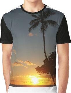 Aloha, Hawaiian Sunset,  Graphic T-Shirt