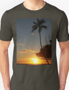 Aloha, Hawaiian Sunset,  Unisex T-Shirt