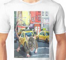 NYC Rat Taxi Unisex T-Shirt