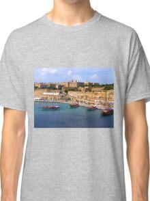 Valetta Harbour Classic T-Shirt
