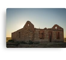 Station masters house Canvas Print