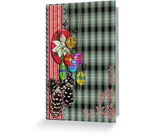 Pinecones n Butterflies Greeting Card