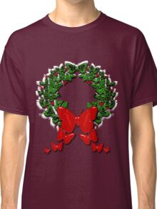 Butterfly wreath Classic T-Shirt