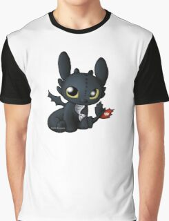 Chibi Toothless Graphic T-Shirt