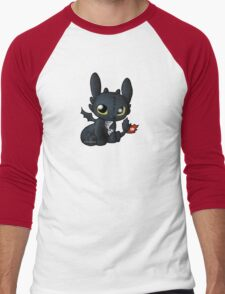 Chibi Toothless Men's Baseball ¾ T-Shirt