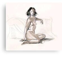 Warm up Canvas Print