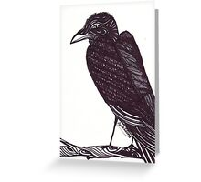 Raven (Halloween 2012) Greeting Card