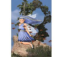Alphabet Fairy- Breeze Photographic Print