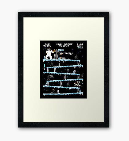 Donkey Hoth Framed Print