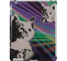Cat on We Have Lasers iPad Case/Skin