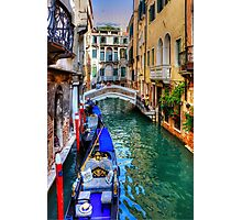 Venice Canal Photographic Print
