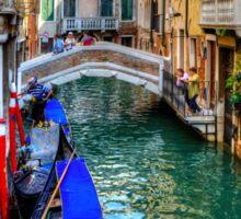 Venice Canal Sticker