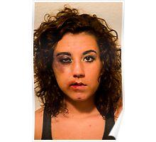 Beaten Beauty Poster