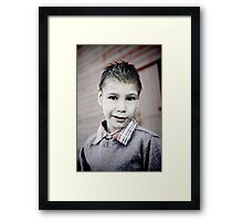Grayson Fade Framed Print