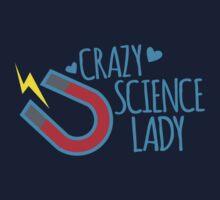 Crazy Science lady by jazzydevil