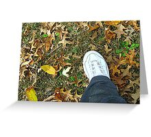 Resolution - To Get Outside and Walk More Greeting Card