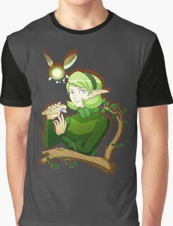 Saria Ocarina Graphic T-Shirt