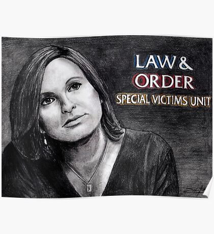 Olivia Benson Law and Order SVU Poster