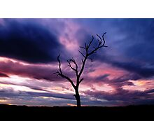 Marbled Sky Photographic Print