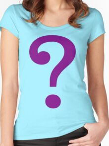 Riddle Me This Women's Fitted Scoop T-Shirt