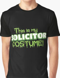 This is my solicitor costume (Halloween) Graphic T-Shirt