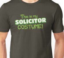 This is my solicitor costume (Halloween) Unisex T-Shirt