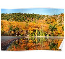 Echo Lake in the Fall Poster