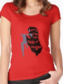 Not Made of Sugar Women's Fitted Scoop T-Shirt