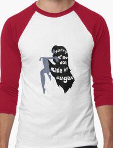 Not Made of Sugar Men's Baseball ¾ T-Shirt
