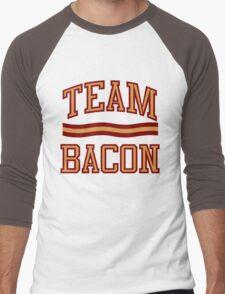Team Bacon Men's Baseball ¾ T-Shirt