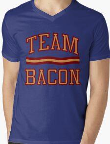 Team Bacon Mens V-Neck T-Shirt