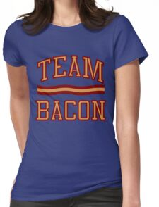 Team Bacon Womens Fitted T-Shirt