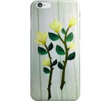 εїз✿♥Magnolia Stems on the Wood Grain Wallpaper iPhone & iPod Cases♥✿εїз iPhone Case/Skin