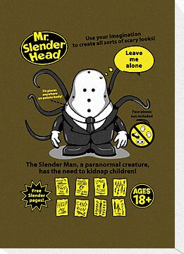 Mr. Slender Head by Olipop