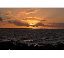 Galloway Sunset Photographic Print