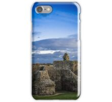 Pevensey Castle ruins early evening iPhone Case/Skin