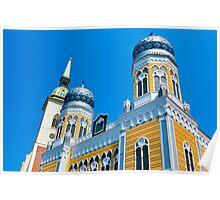 Polystyrene Place of Prayer. Bratislava, Slovakia. Poster
