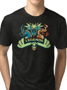 LEGENDS - Silver Tri-blend T-Shirt
