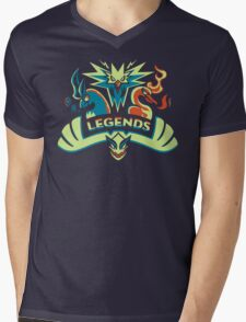 LEGENDS - Silver Mens V-Neck T-Shirt