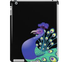 A splendid green and blue Peacock iPad Case/Skin