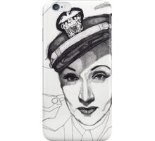 Marlene Dietrich iPhone Case/Skin
