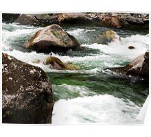 Water Running Through  Poster