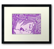 Space Fall (Pale Ghost Exclusive) Framed Print