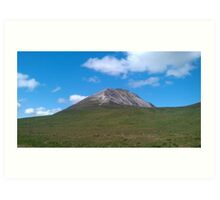 Mount Errigal- Donegal,Ireland Art Print